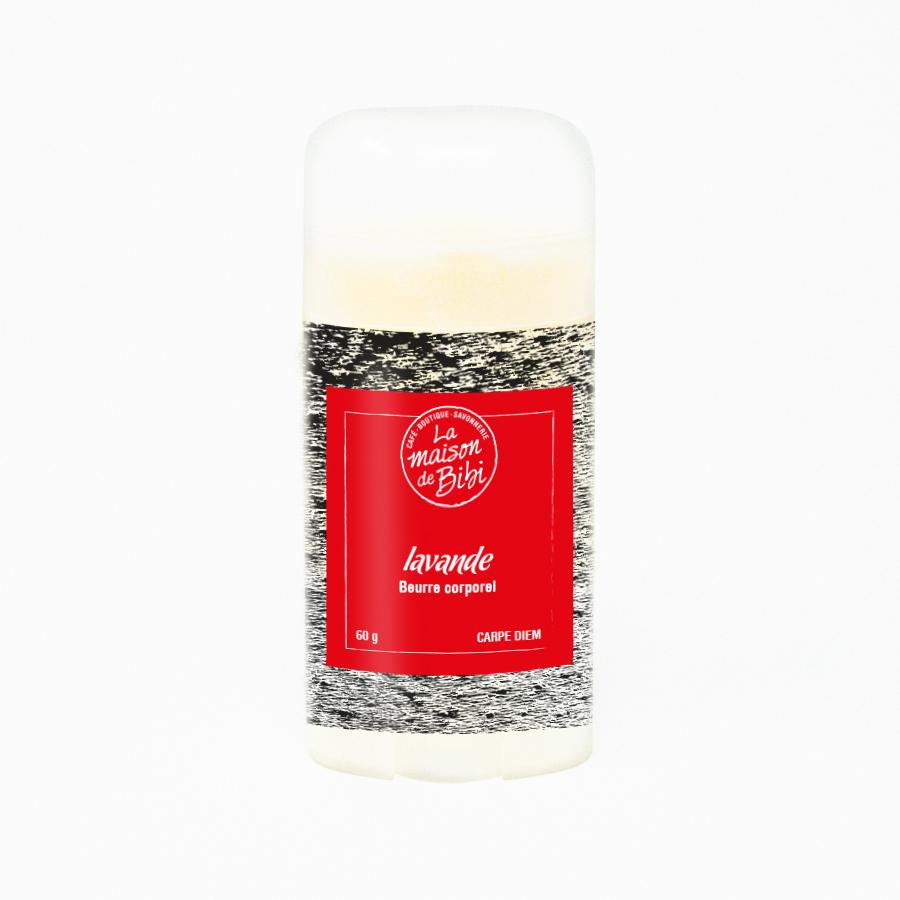 Beurre corporel à la lavande