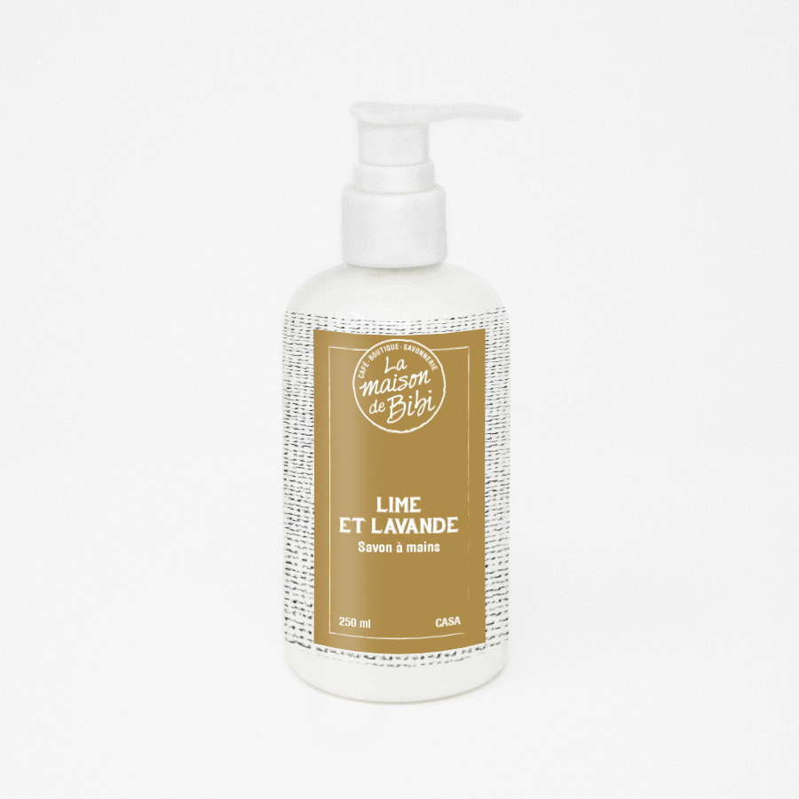 Savon à mains liquide Lime et Lavande 250ml